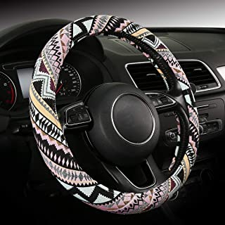 SOBONITO Baja Steering Wheel Cover,Universal Size,Fit for Most SUV,Cars,Vans,Trucks (SWC-G)