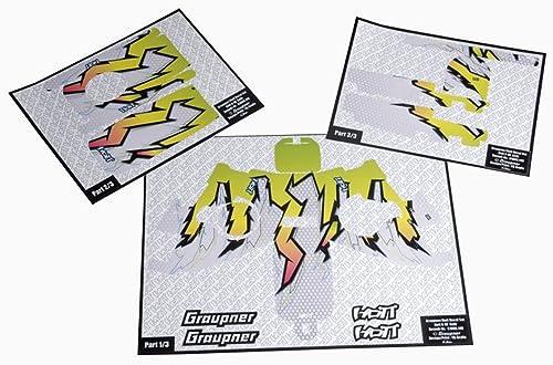 nueva marca grispner grispner grispner Decoración de X 8E Freaky amarillo  liquidación hasta el 70%
