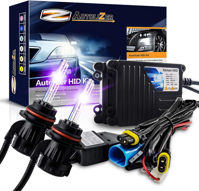Autolizer 55W Xenon HID Lights 9006 HB4-5000K OEM White HID Kits ...