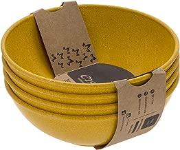 EVO Sustainable Goods 936 Salad Bowl Set, 24 oz, Yellow