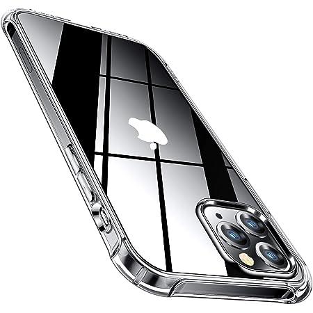 "CANSHN Funda Compatible con iPhone 12 Pro MAX, Carcasa Protectora Antigolpes Transparente con MagSafe de TPU Suave Flexible [Slim Delgada] Compatible con iPhone 12 Pro MAX 6,7"" - Transparente"