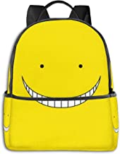 NanZYang School Backpack Assassination Classroom Unisex Daypacks Laptop Bags Outdoor Travel Large Computer Bag Black