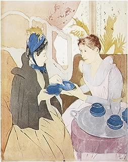 Global Gallery Art on a Budget Mary Cassatt Afternoon Tea Party 1891 (2)