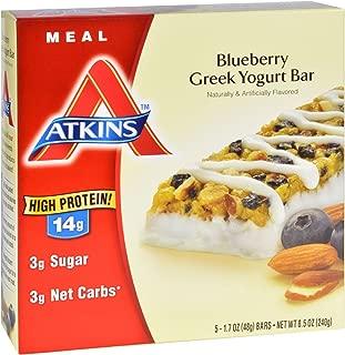Atkins Advantage Bar - Blueberry Greek Yogurt - 5 Count
