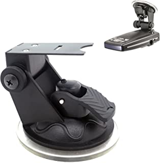ChargerCity Car Windshield Strong Suction Cup Mount Radar Detector Holder for Escort Passport 9500ix 9500 8500 8500x50 x55...