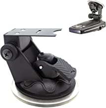ChargerCity Car Windshield Strong Suction Cup Mount Radar Detector Holder for Escort Passport 9500ix 9500 8500 8500x50 x55 7500 S55 s75 s75g Solo S3 S4 Beltronics GX65 RX65 Vector Radar Detectors