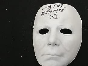 TONY MORAN Signed Michael Myers VacuForm MASK Autograph Halloween