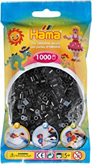 Hama - 207-18 - Loisirs Créatifs - Perles et Bijoux - Sachet 1000 Perles - Noir