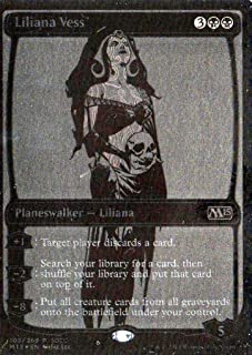 Magic: the Gathering SDCC 2014 Exclusive Foil Planeswalker Liliana Vess Card