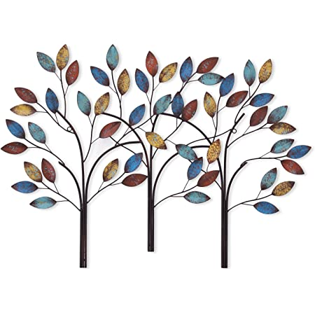 Tree Of Life Metal Wall Sculpture 39 Inches Wide X 24 Inches High Metal Wall Art Home Kitchen