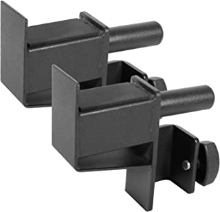 Ollieroo Set of 2 Steel Hooks Barbell Holder for Power Rack Power Cage - Fit Most of 2