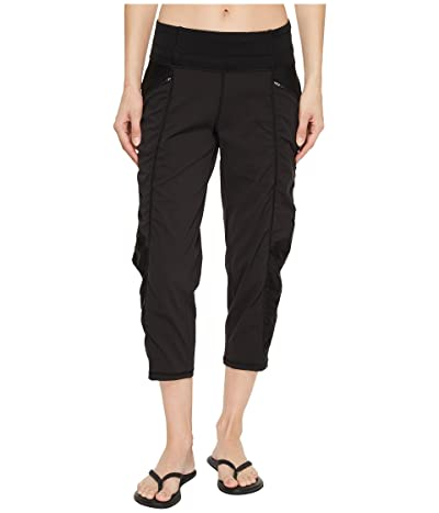 The North Face On the Go Mid-Rise Crop Pants (TNF Black) Women