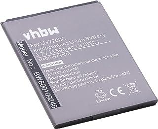 vhbw Li-Ion batería 2150mAh (3.7V) para Smartphone, teléfono móvil Hisense HS-U966, HS-U970, HS-U971, HS-U971AE, T970, U966, U970 por LI37200C.