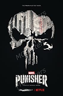 MCPosters Marvel The Punisher TV Show Series Poster GLOSSY FINISH - TVS633 (24
