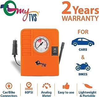 myTVS 407681 2-in-1 Tyre Inflator (Orange)