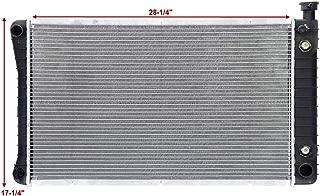 ALUMINUM RADIATOR FOR 1988-1995 CHEVROLET C1500//K1500// SUBURBAN V8 5.0//5.7  3ROW