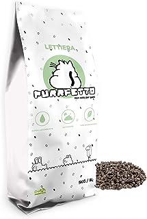 Purrfetto Arena para Gatos Pellet - 100% Biodegradable 100% - Vegetales - También para Conejos Enanos, pájaros y roedores (5 kg - 1 Bolsa)