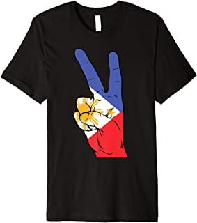 HowExpert Philippines Flag T-Shirt/Shirt/Clothes/Clothing Premium T-Shirt