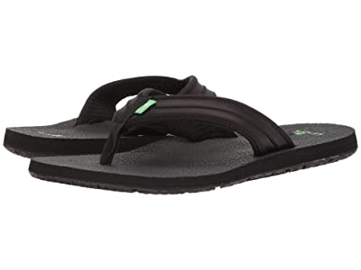 Sanuk Land Shark (Black) Men