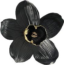 Sagebrook Home 14448-04 راتنج 18 بوصة حامل حائط أورجواني، أسود/ذهبي
