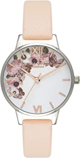 Olivia Burton Reloj Analógico para Mujer de Cuarzo con Correa en Cuero OB16EG75
