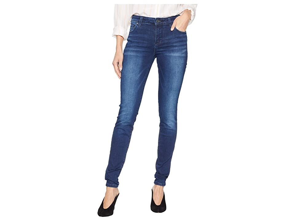 KUT from the Kloth Mia Toothpick Skinny Jeans in Reaction (Reaction/Medium Base Wash) Women