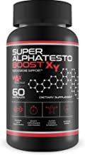 Super AlphaTesto Boost X Y - Natural Testosterone Support - Boost Free Testosterone with This Herbal Super Alpha Testo Boost X Blend - Improve Muscle Growth - Feel Youth, Power, Energy, and Drive
