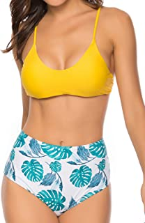 d883fa56b9bd Amazon.es: bikini triangulo amarillo: Ropa