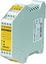 EUCHNER Safety Monitoring Relay, 24VAC/DC, 8A @ 250V, 8A @ 50V, 0.4W, Number of Inputs: 5