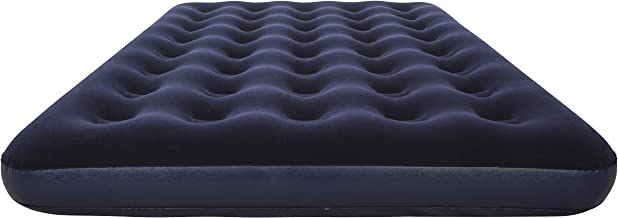 NHR Bestway Airbeds Flocked Aeroluxe Quick Inflation Indoor Air Mattress (Double, 75 in x 54 in)
