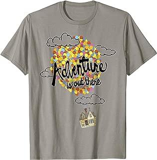 Disney Pixar Up Adventure House Balloon Graphic T-Shirt