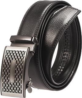 BBBelts Men 1-3//8 Wide Full 1 Piece Hand-Cut Leather Metal Roller Buckle Belt