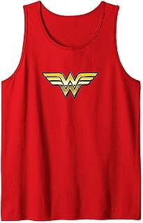Wonder Woman Golden Logo Tank Top