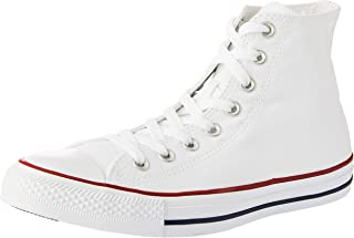 Mens Converse Chuck Taylor All Star High Top Sneakers (Optical White, 4.5 D(M) US)