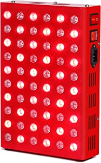 SGROW 300W Red Light Therapy Lamp Red 660nm and Near Infrared 850nm-Red & Near Infrared Led Light Therapy for Skin Pain Relief Anti-Aging …