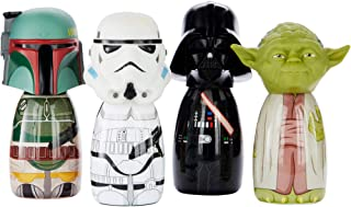 Disney Stars Wars Exclusive Mini Body Wash Collection - Boba,Yoda, Vader, Storm - 4 Count, 60ml each