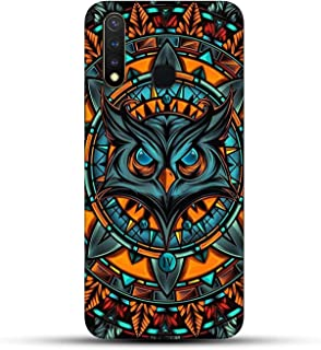 Shopezzz Bazaar Angry Owl 3D Printed Hard Mobile Back Cover Case for Vivo Y19/U20