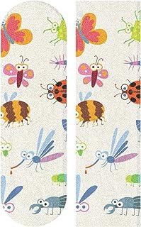 Auskid Wasp Bee Bumblebee Worm Skateboards or Longboards Griptape/Grip Tape 1 Sheet 33.1 x9.1 Inch