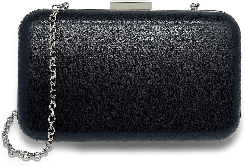 HONGYI Elegant Women Atlanta Mall Box Clutch Frame Metal 70% OFF Outlet Evening Bags