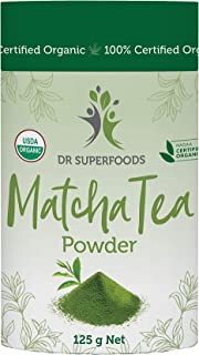 Dr Superfoods Certified Organic Matcha Tea Powder, 1 Count
