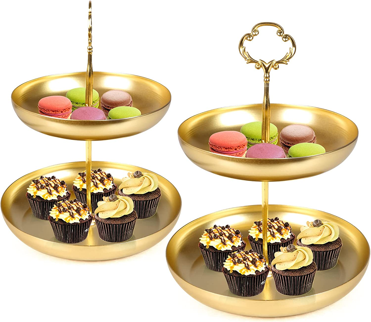 Koreyosh 2 Tier Cupcake Stand Ranking At the price TOP18 Holder Party Set of for
