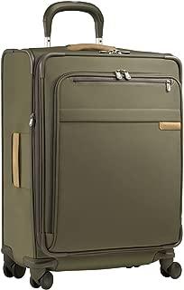 Briggs & Riley Luggage Baseline Spinner, Olive, Medium