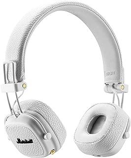 Marshall 马歇尔 Major II BT 头戴式HiFi摇滚重低音监听无线蓝牙耳机 折叠式耳麦 白色