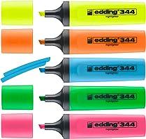 Edding 344 fosforlu kalem, 5'li set