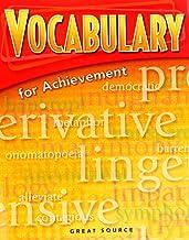 Vocabulary for Achievement Intro Course