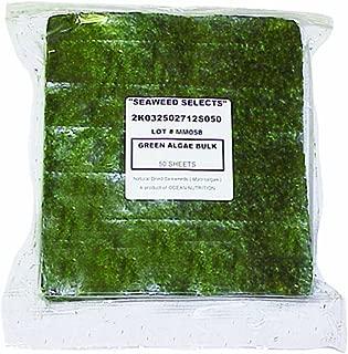 Ocean Nutrition Bulk Seaweeds Green Marine (50 Sheets)