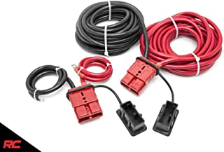 Rough Country 24 FT Quick Disconnect Winch Power Cable Compatible w/Any Standard Size Winch RS108
