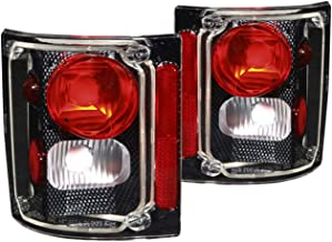 Anzo USA 211015 Chevrolet Carbon Tail Light Assembly - (Sold in Pairs)