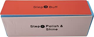 4 Way Buffer Block Nail Buffering Files 4 Steps Washable Emery Boards Professional Manicure Tools by DreamCut