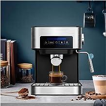 Hbing Bar espresso koffiemachine inox geval semi automatische expresso maker, cafe poeder espresso maker, cappuccino (Kleu...